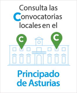 Consulta aquí las convocatorias locales en el Principado de Asturias